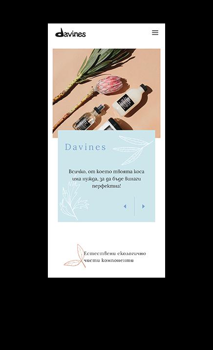 davines website
