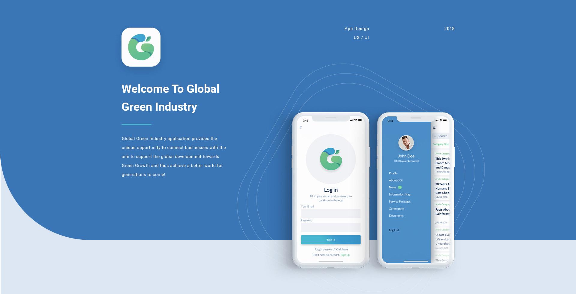 Global green app