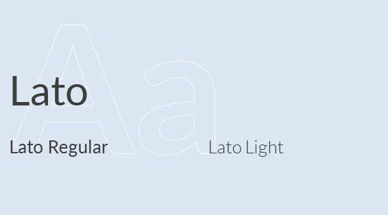 Global green app font