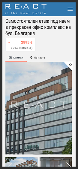 react real estate mobile
